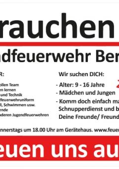 Banner - Feuerwehr Bergdorf