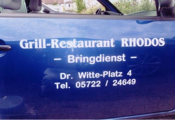 Kfz Rhodos-Grill