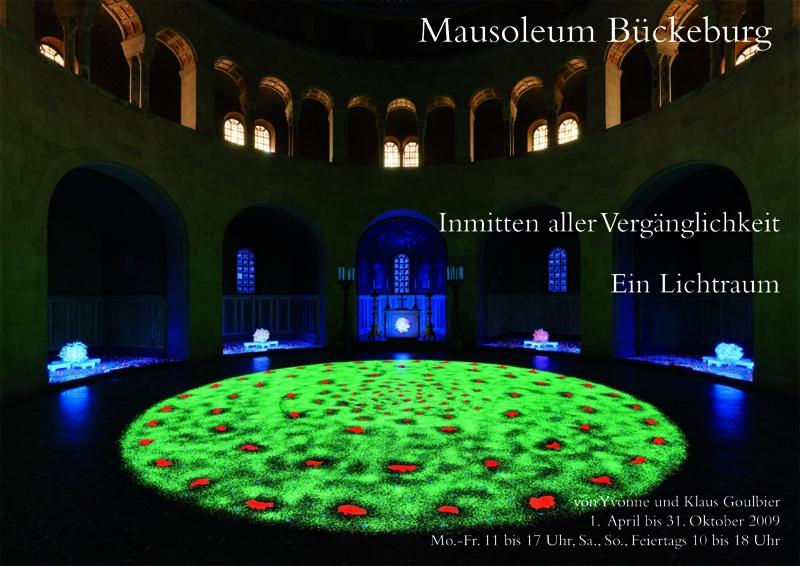 Lichtraum Mausoleum - Flyer A31 Kopie