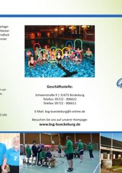 Folder - BSG Bückeburg