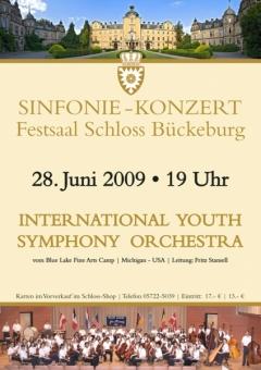 Plakat - 2009 Blue Lake Schloss Bückeburg