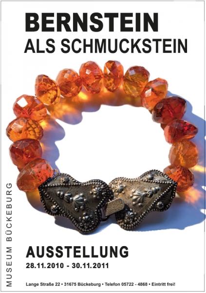 Plakat - Ausstellung Bernstein