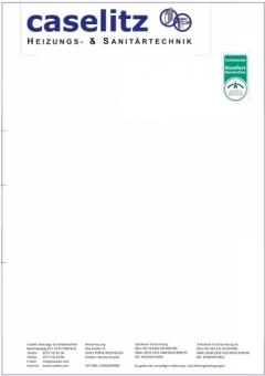 Briefbogen - caselitz