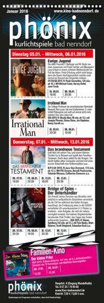 Flyer - Kino Bad Nenndorf - Seite 1