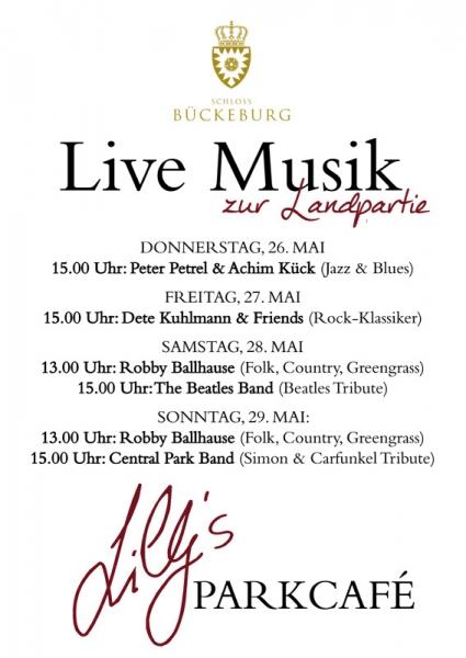 Lillys Plakat Live Musik A2