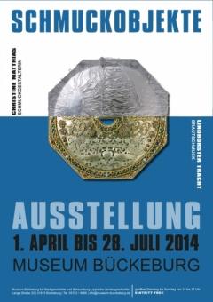 Plakat - Ausstellung Schmuckobjekte