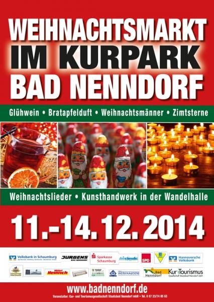 Plakat - 2014 Weihnachtsmarkt Bad Nenndorf