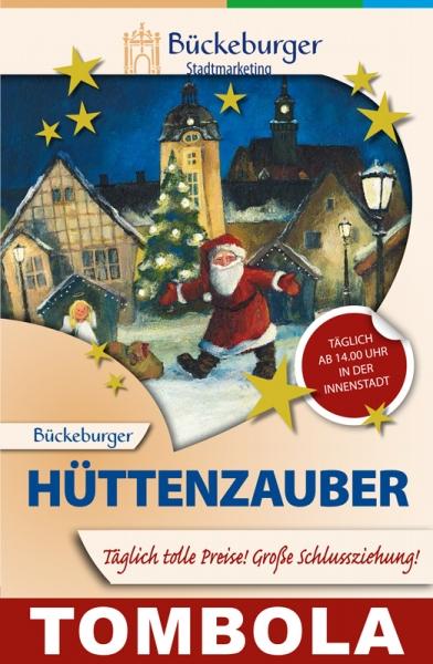 Plakat - Bückeburger Hüttenzauber Tombola