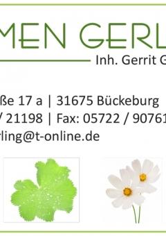 Visitenkarte - Blumen Gerling - Seite 1